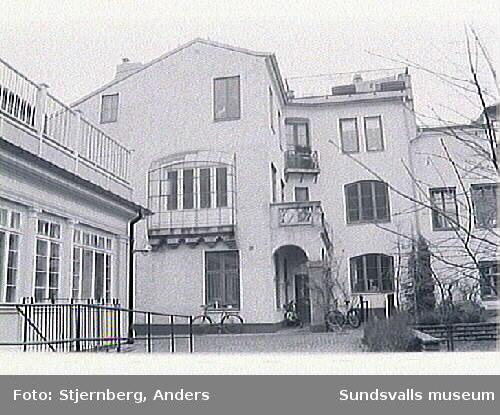 Helgo Zettervalls bostad.