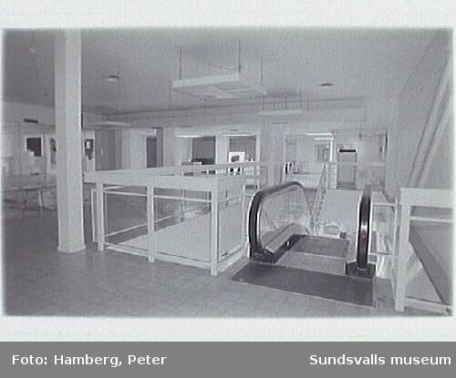 Översiktsbild våning 3.fd lager Hennes och Marurits Lyckan nr 5 , foto före ombyggnad