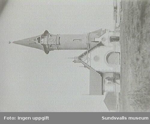 Spruthus för Vifstavarvs bruk, sedan 1959 använt som kapell för Timrå församling.