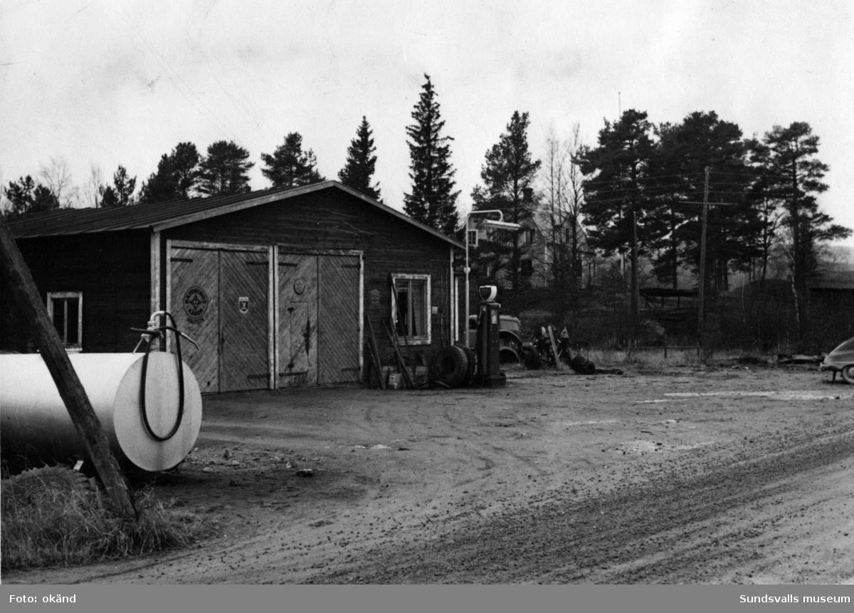 BP-stationen Överturingen, Ånge. Köpman: Julius Eriksson.