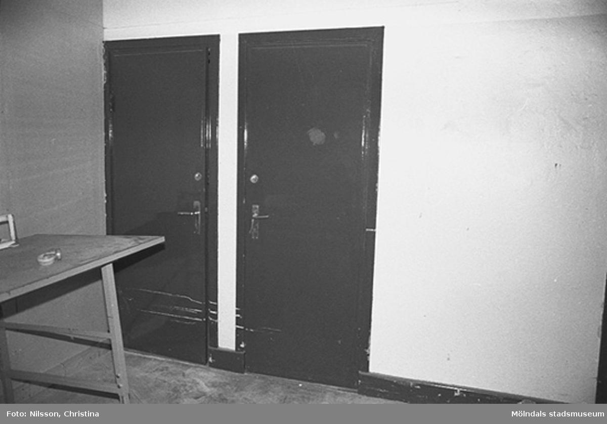 Byggnadsdetaljer: Dörrar, hösten 1994.