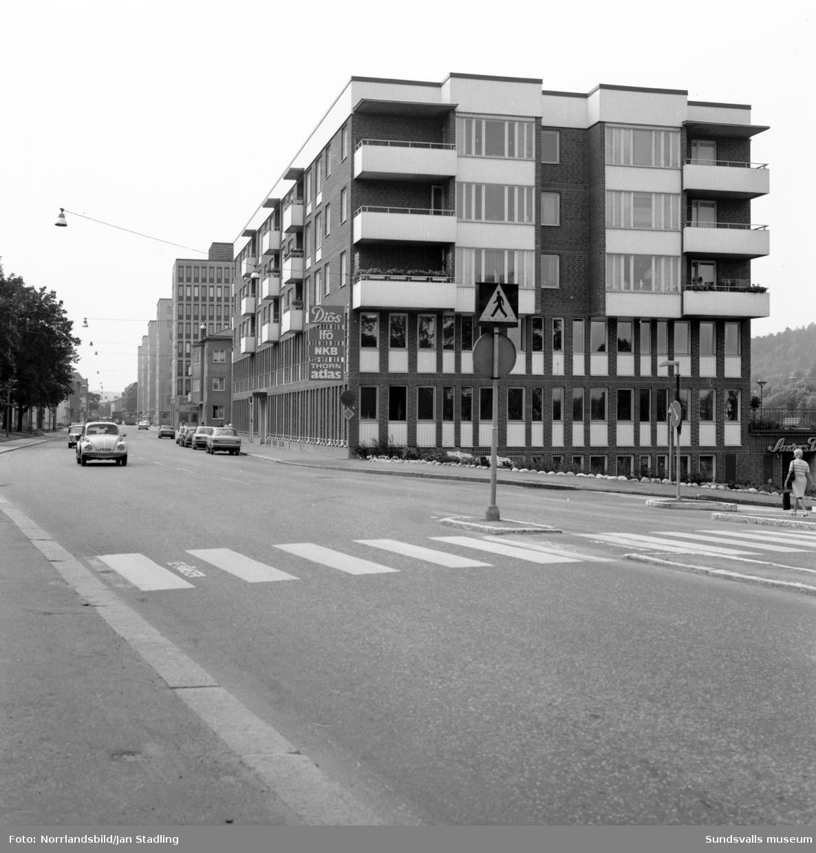 Diöshuset på Storgatan 44, kvarterer Stenhuggaren.