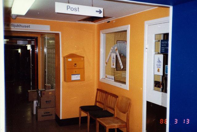 Postkontoret 890 02 Örnsköldsvik Örnsköldsviks Sjukhus