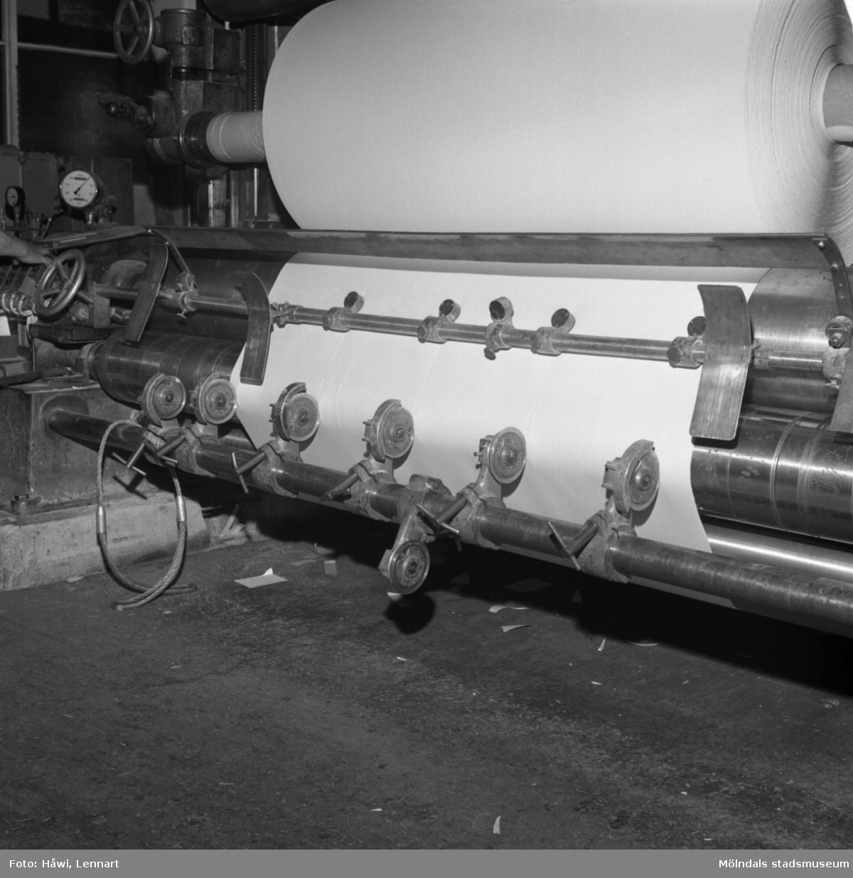 Rullmaskin nr 14 på Papyrus i Mölndal, 8/6 1967.