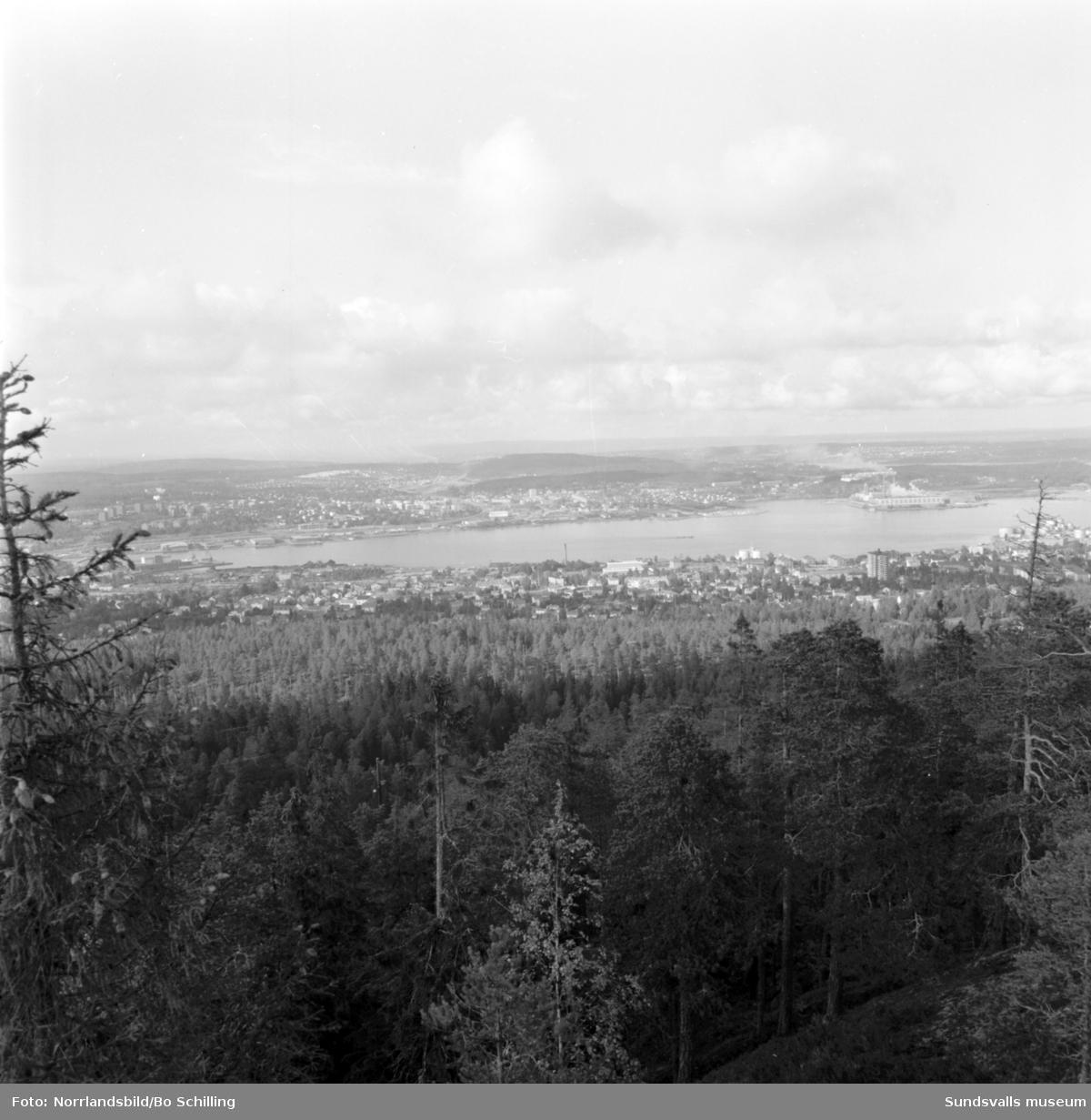 Vy över Skönsmon från Södra berget.