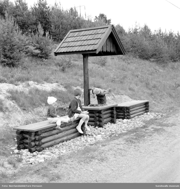 Kävsta camping, turistanläggning vid Kävstabron vid Indalsälven.