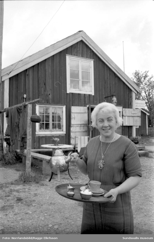 Värdshuset Lanternan i Lörudden. Reportage för Expressen.