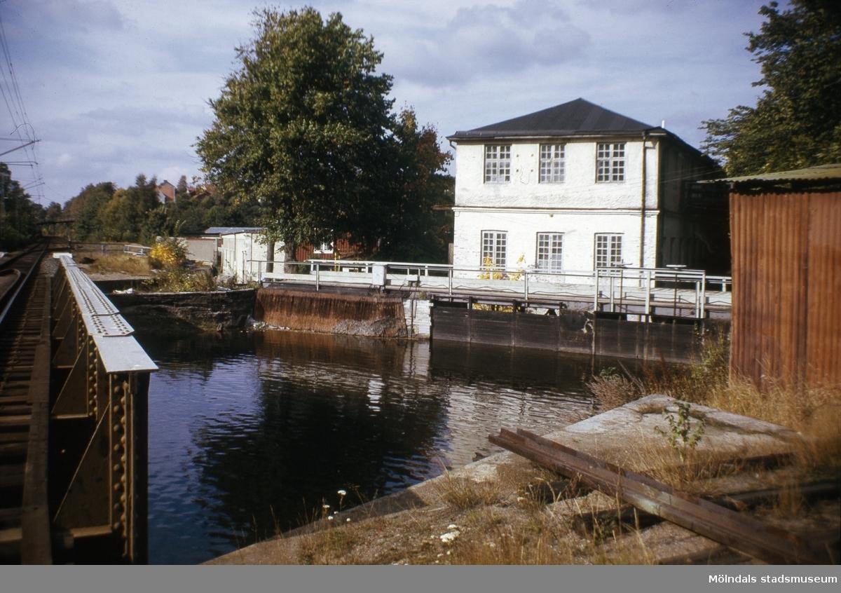 Carlsfors fabriker/Bettyholm, Kvarnfallet 31 vid Strandgatan i Mölndal, 1970-tal.