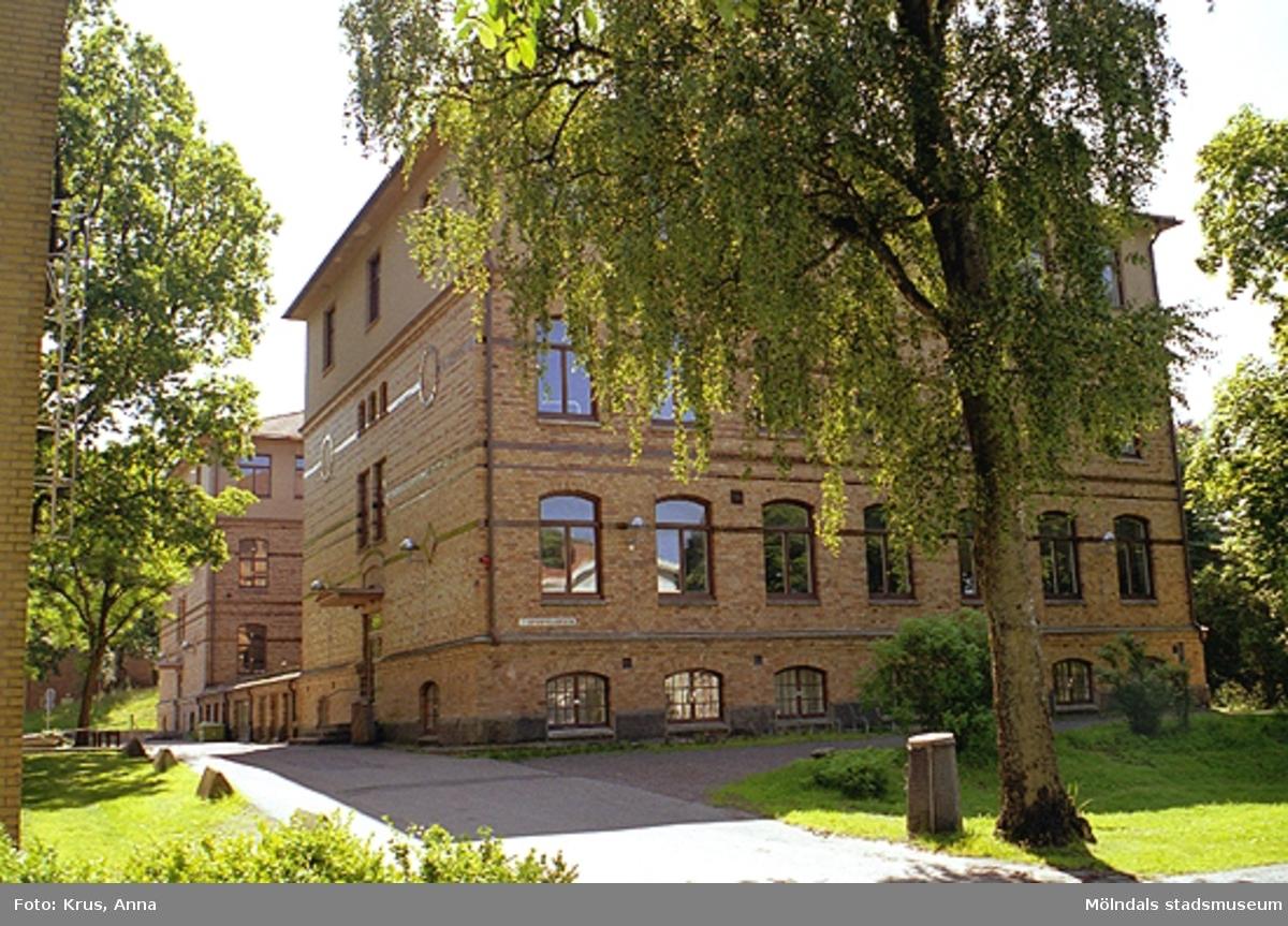 Sporregården, tidigare Stora skolan, mot norr.