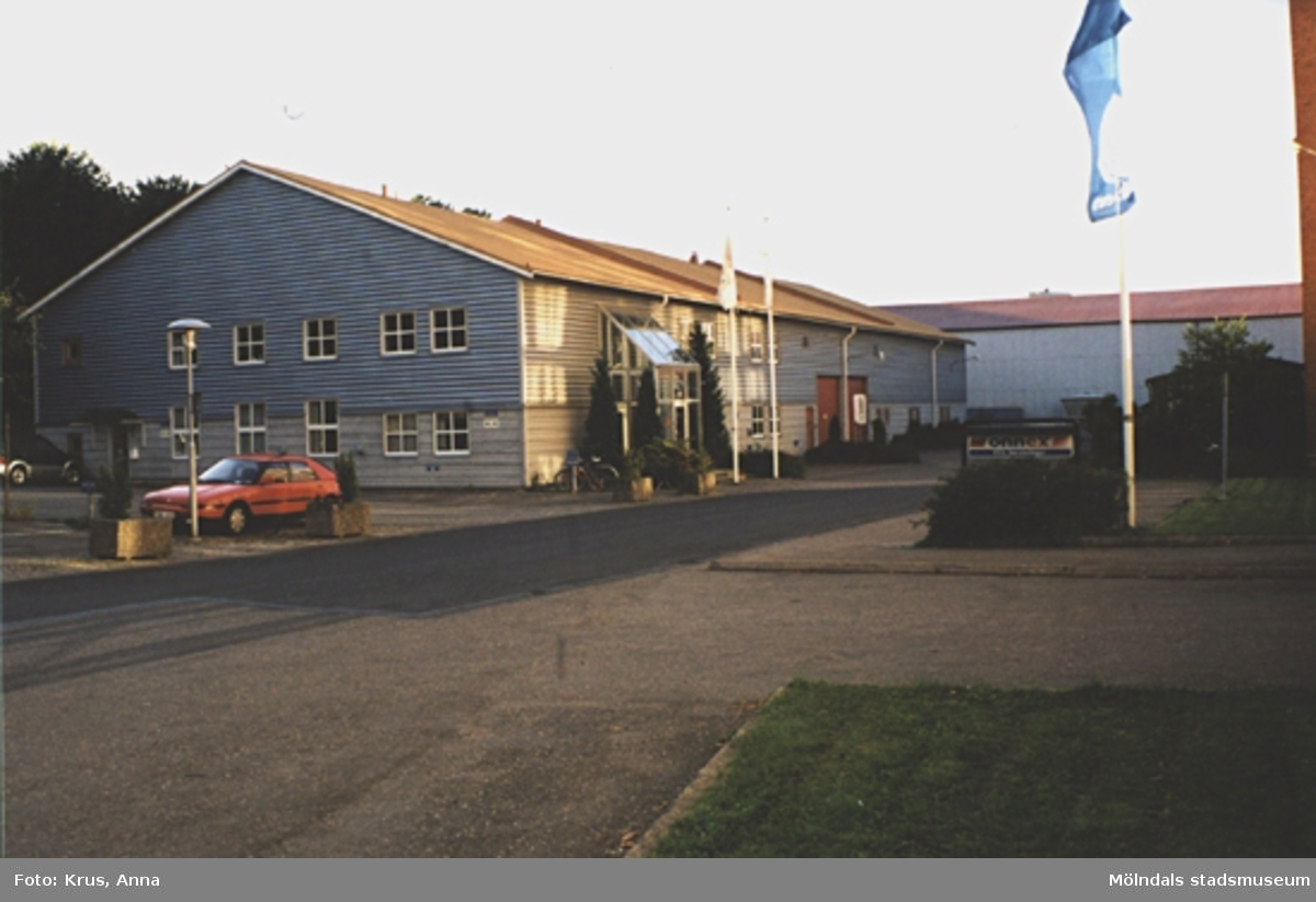 Kängurun 18. Krokslätts fabriker. F.d bomullsmagasinet sett från sydost.