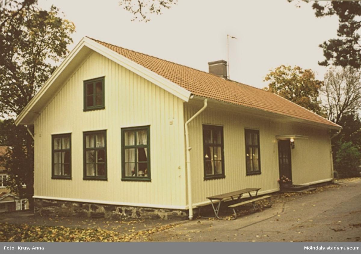 Södra kyrkskolan - 1865 i Lindome.