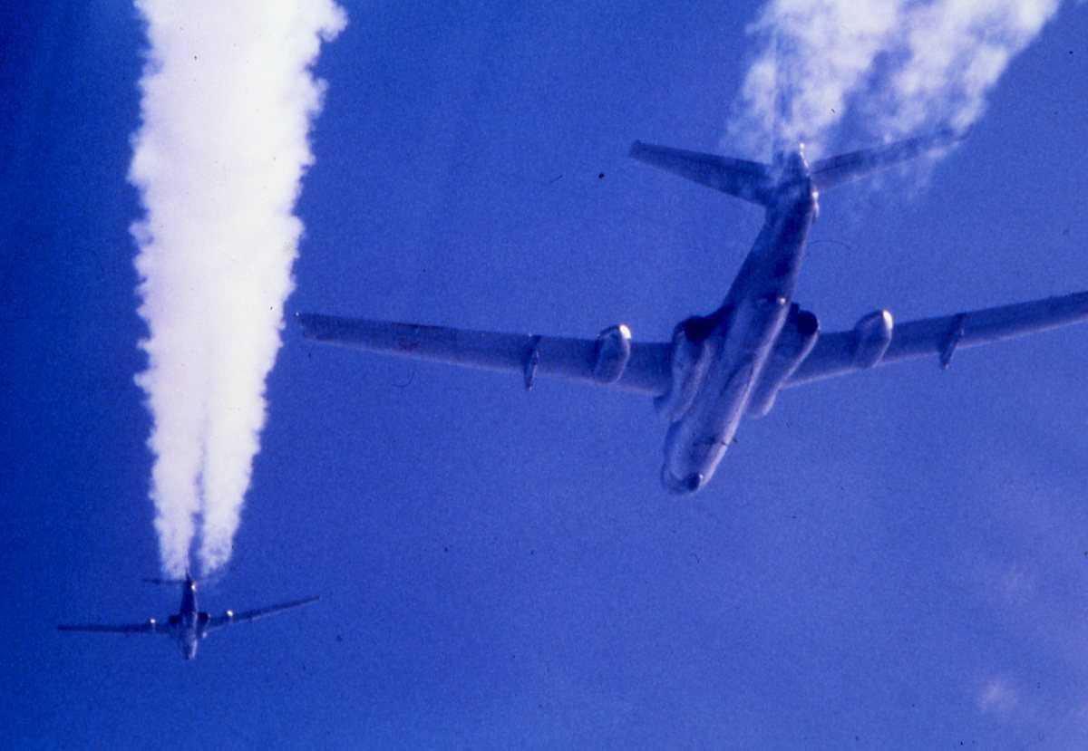 Russiske fly av typen Badger C.