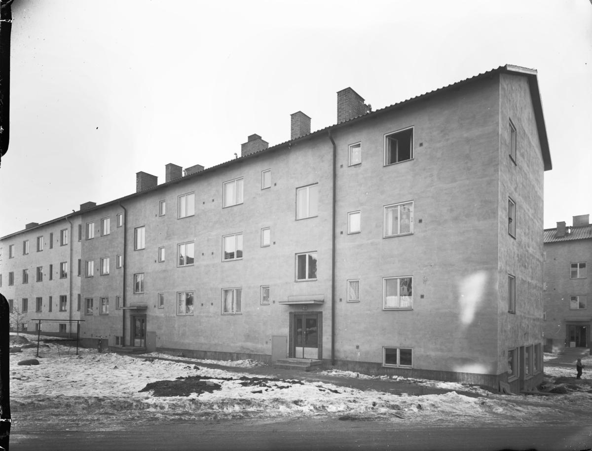 Flerbostadshus, Årsta Exteriör
