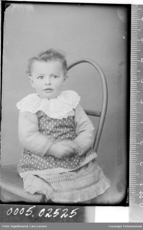 Portrett av et barn.