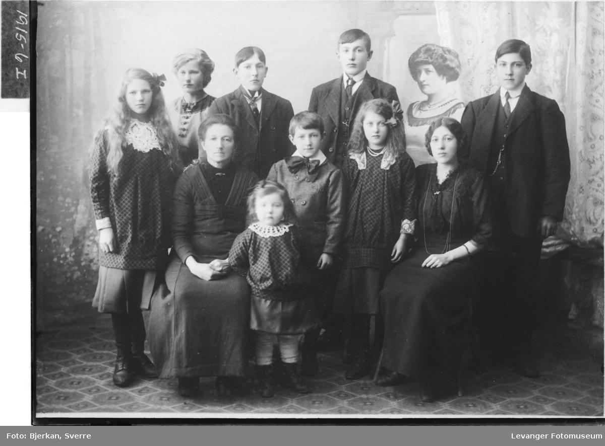 Birgitte Olsen med familie