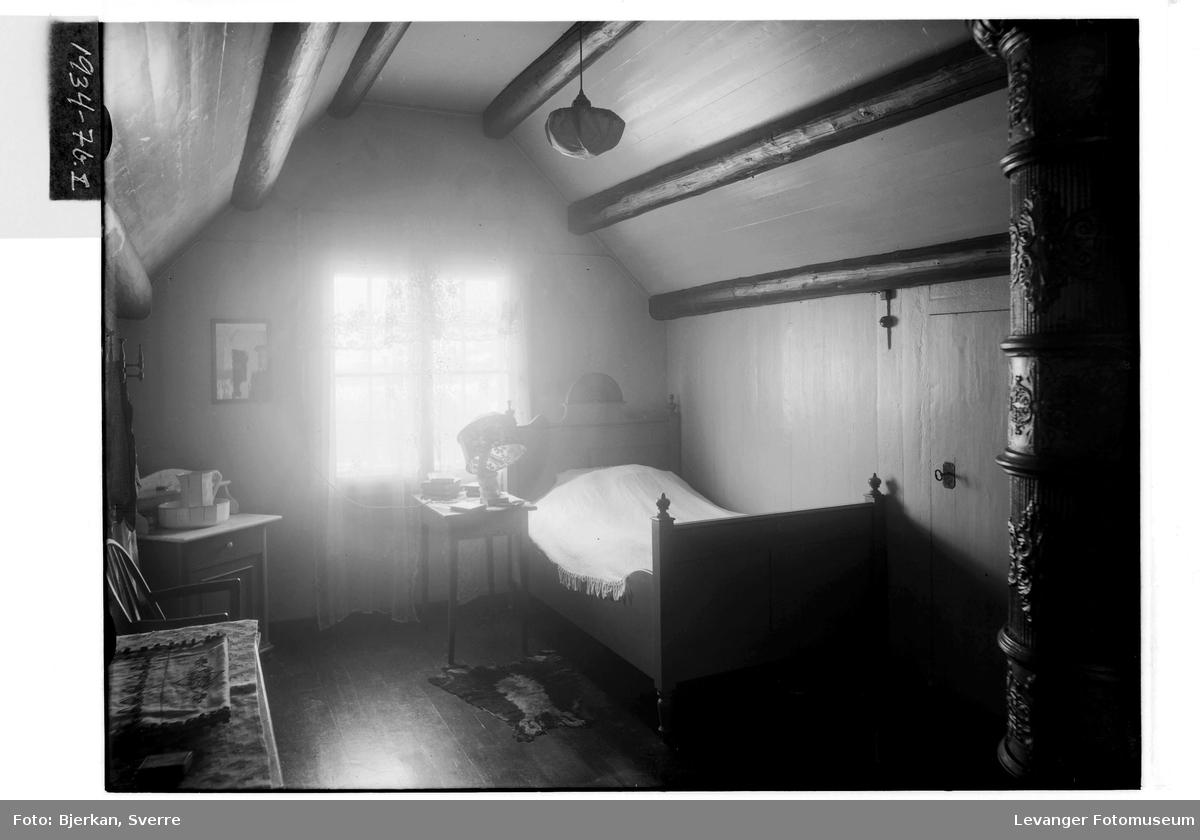 Pastor Janckes soverom på Brusve Gård