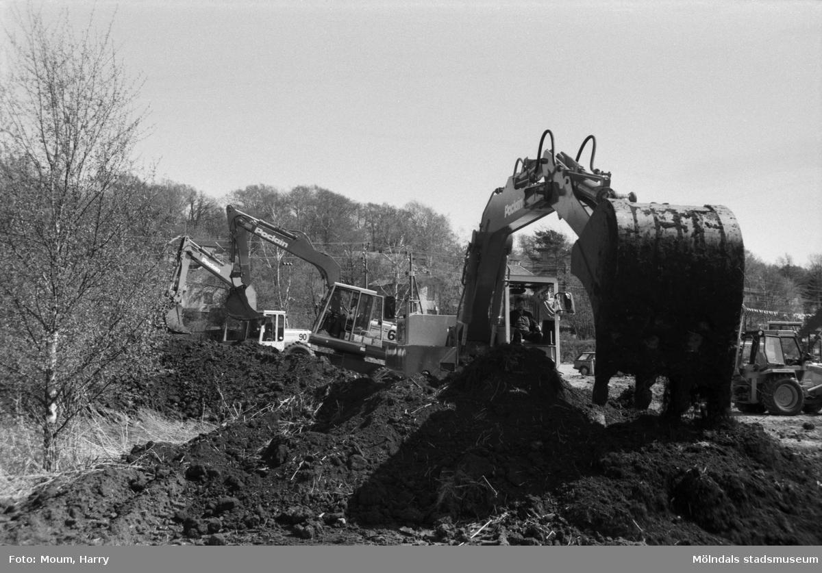 Service & Maskingruppen i Kållered, år 1984.  För mer information om bilden se under tilläggsinformation.