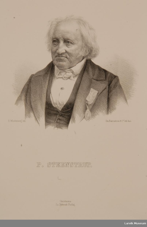 Poul Steenstrup Portrett