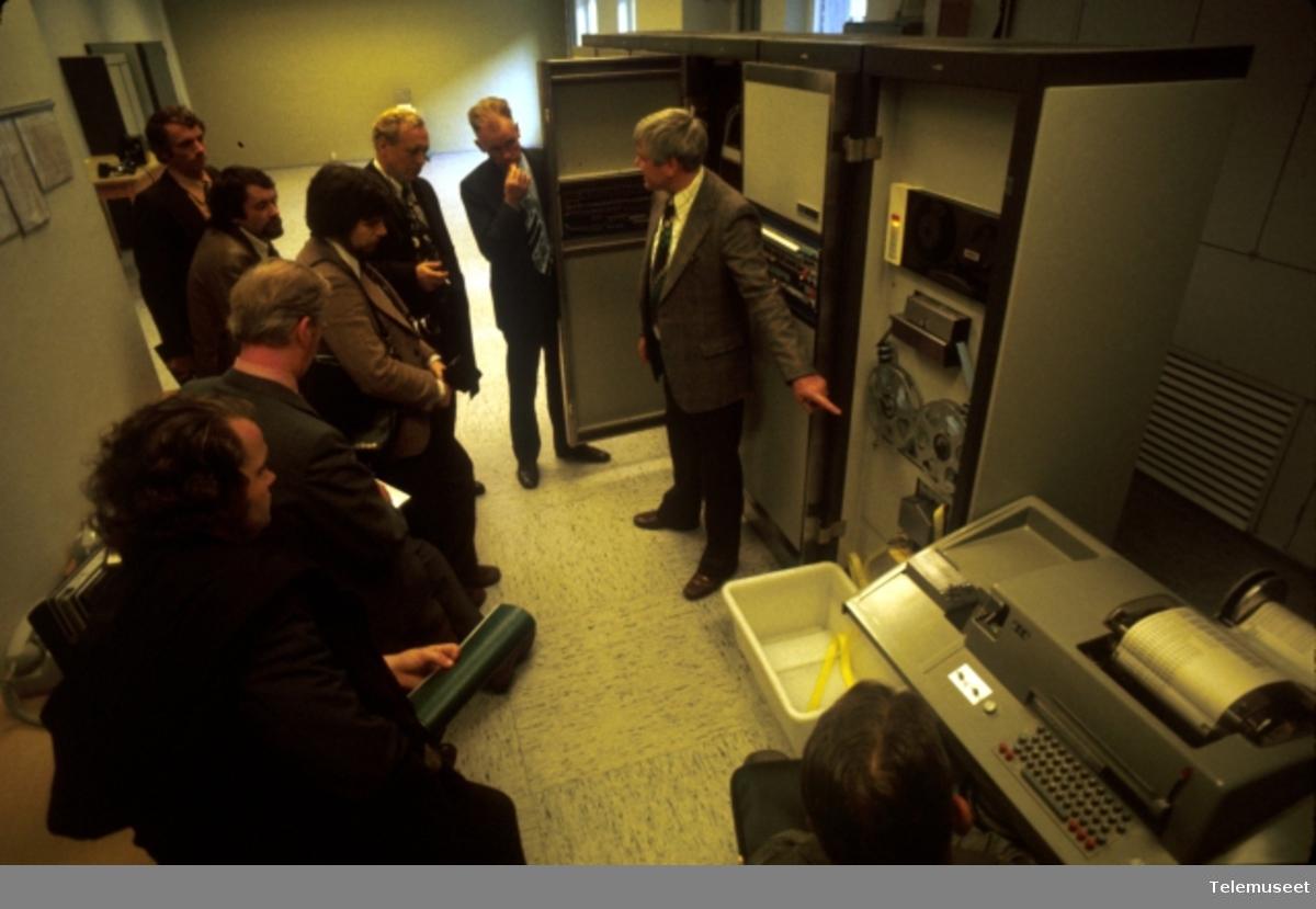 Automatiske sentraler datastyrte