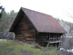 Kornboden, Riggerbua og Badehuset til Jeia Homann.