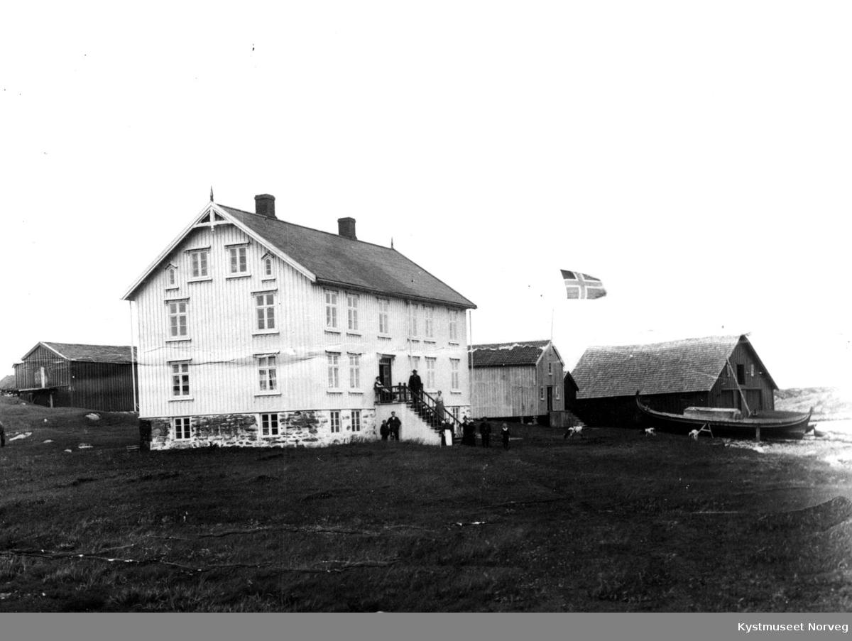 """Vikna, handelsstedet """"Kråkøya"""""""