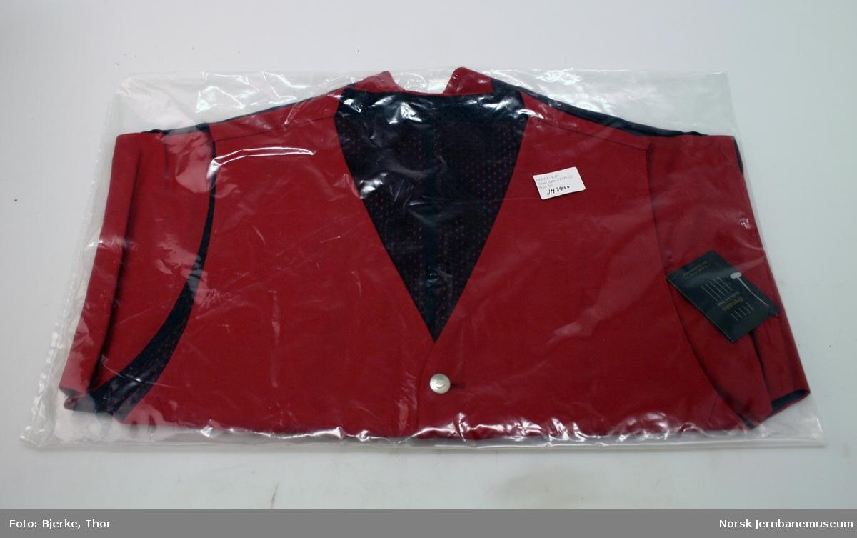 Uniformsvest for NSBs merkevare AGENDA, størrelse 56