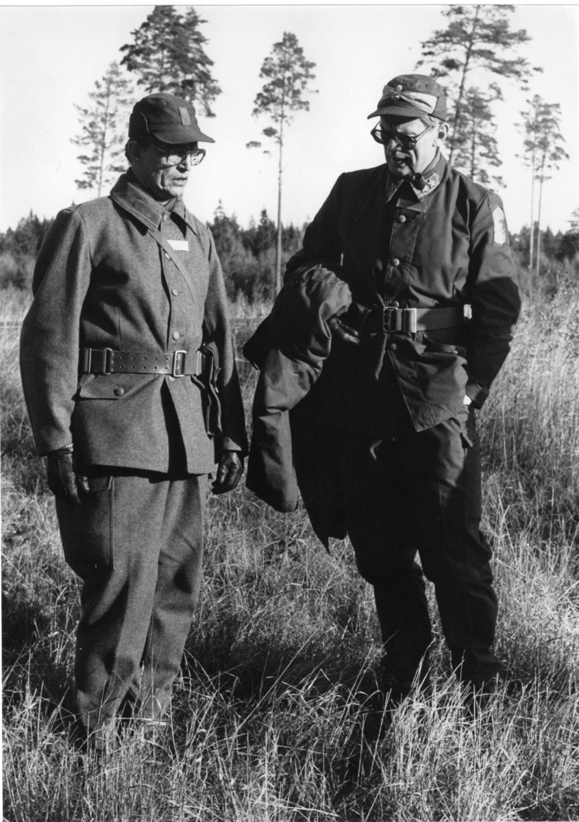 Inspektion, A 6. Regementschef överste Carlsson, ?.