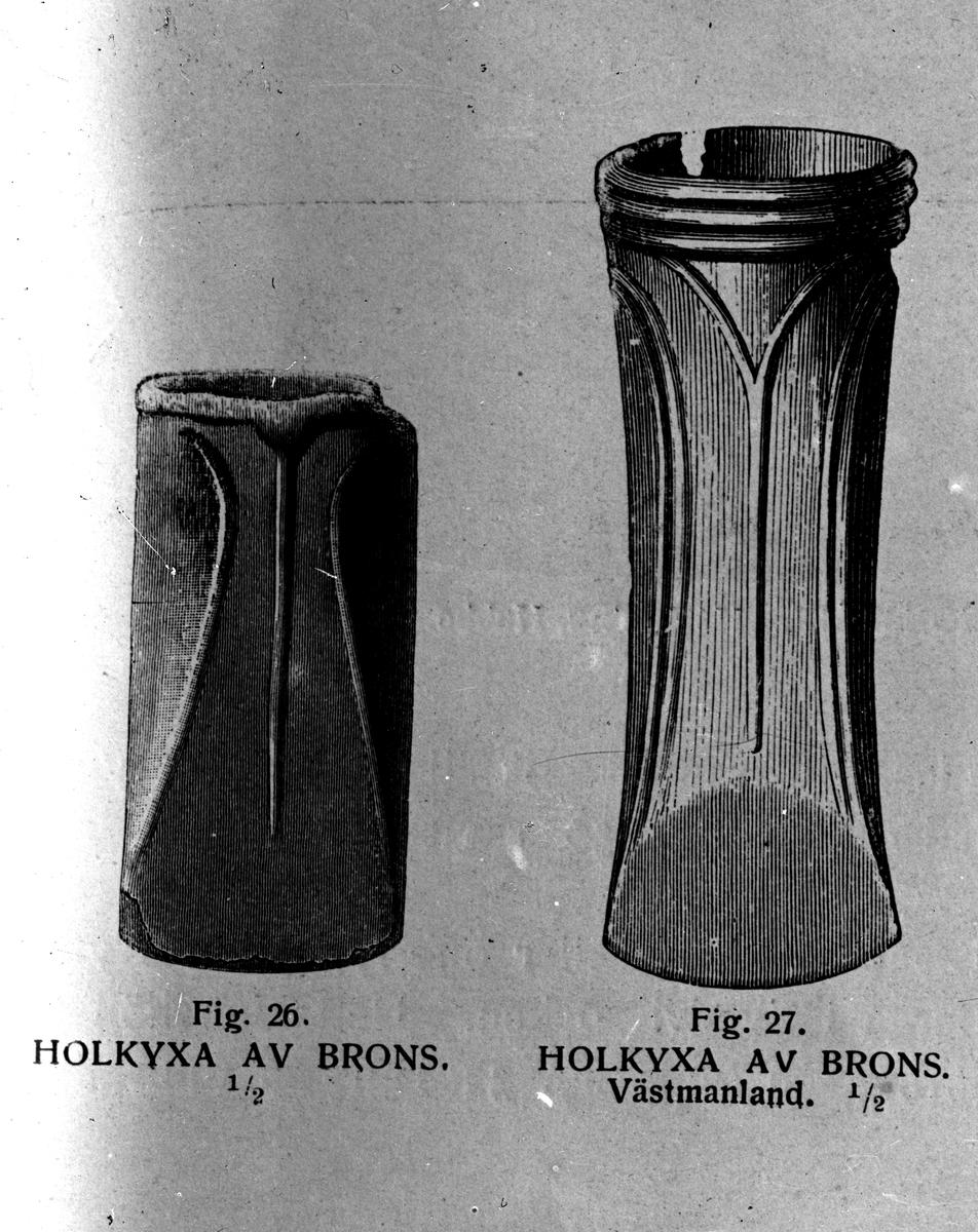 Holkyxor av brons