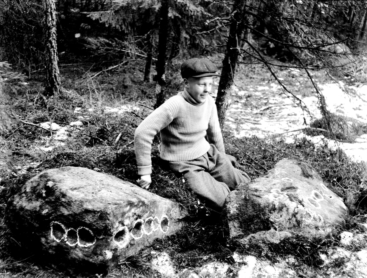 Älvkvarn i Björk, 1920-tal. Fotograf: KJ Österberg