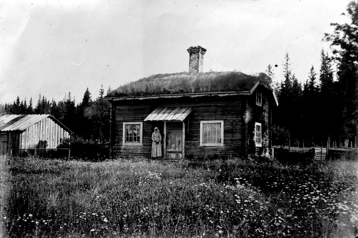 August Blanches förmodace födelsehem i Skinnskatte berg. Fotograf E Sörman.