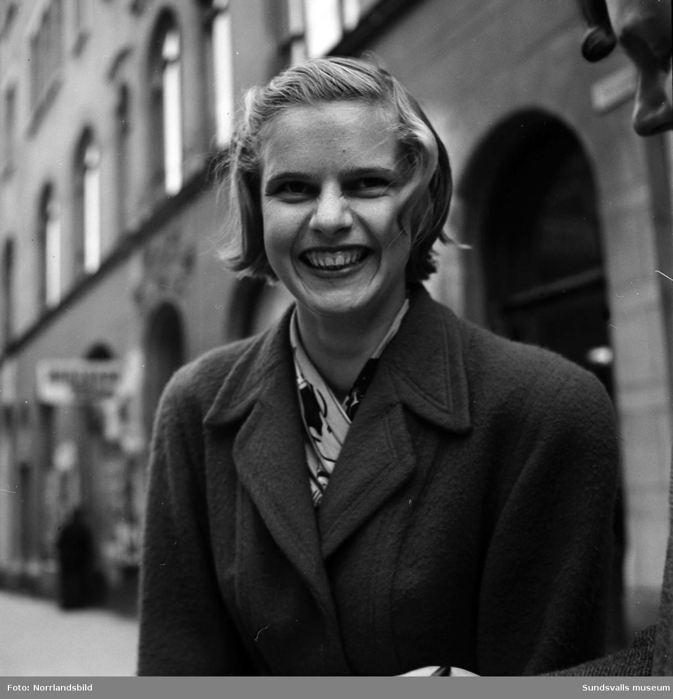 Inga-Britt Bergsten, Sundsvall. Porträttbild.