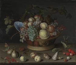 Stilleben med frukt [Maleri]