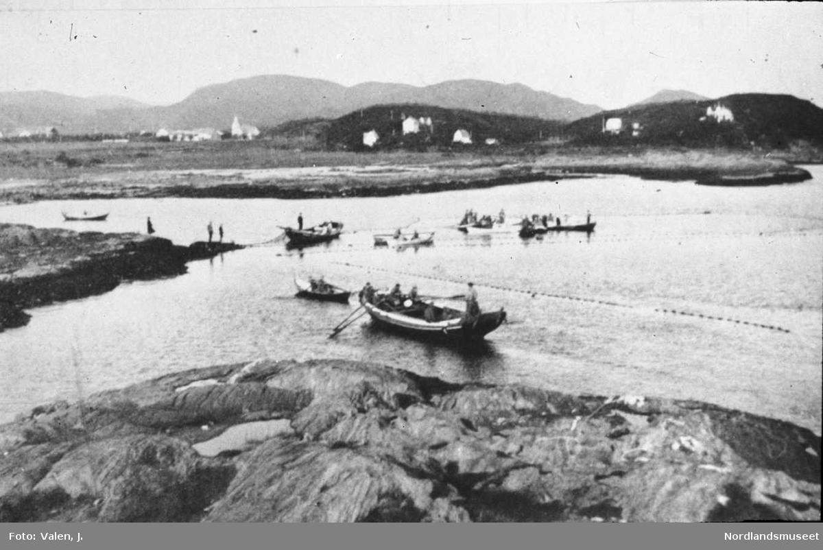 Sildestenget ved Bodøsjøen, den gang Bodin (1932), fra Bodin kommunes bildearkiv