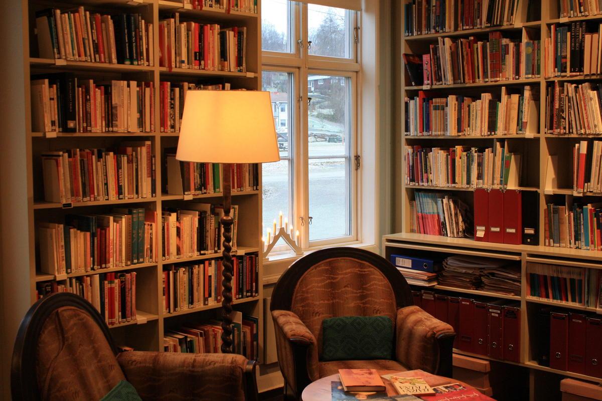 Biblioteket på Kvinnemuseet