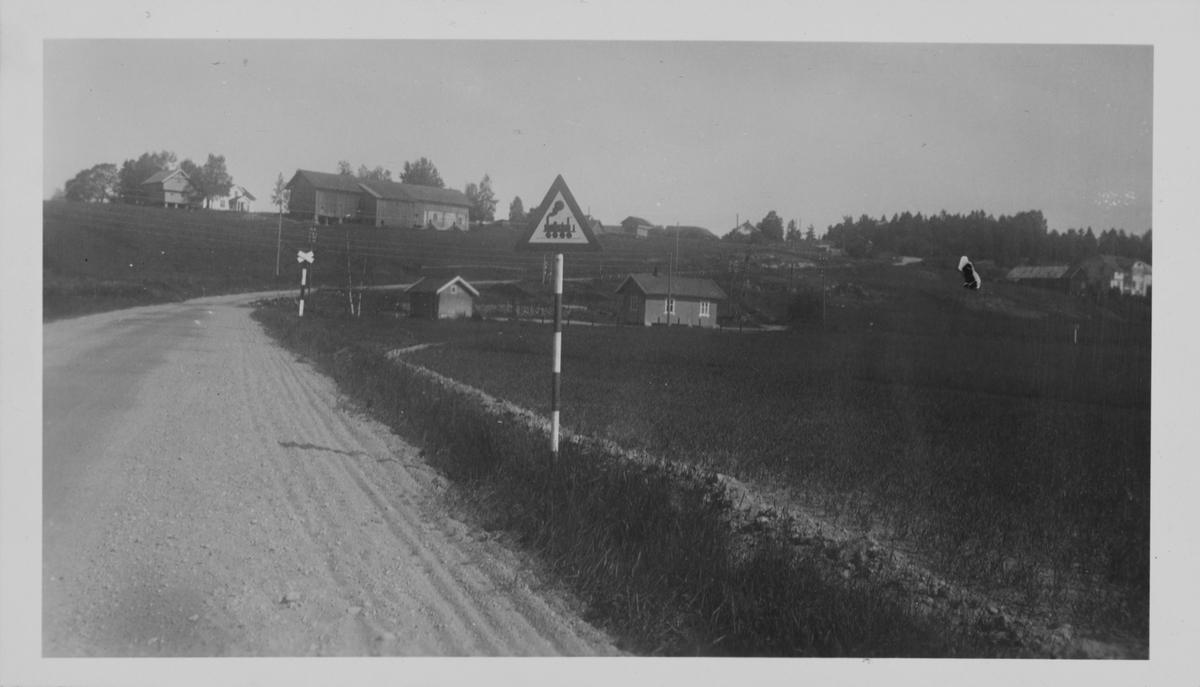Ved Hornåseng stasjon fotografert i juni 1959.