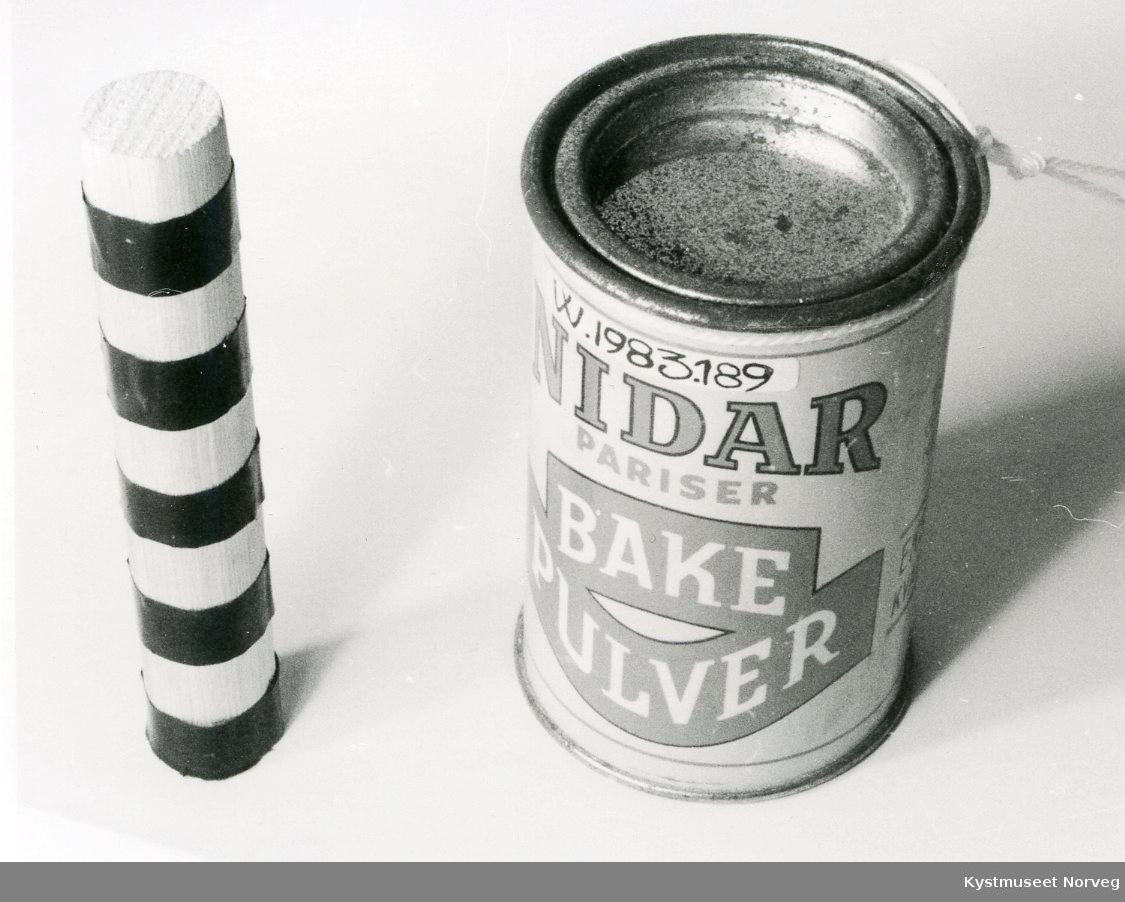 Nidar Pariser Bakepulver, 100 gr. netto. Ekstr kvalitet