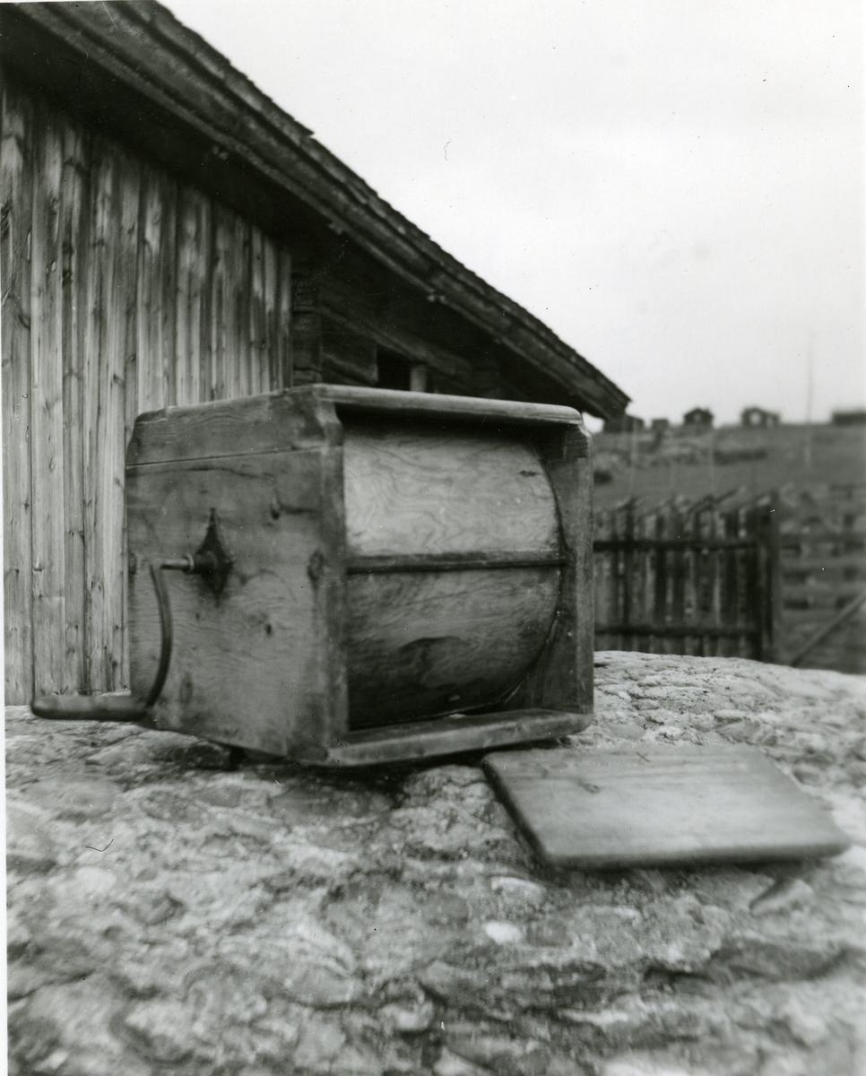 En vindekinne fra Fodnesstølen i Valdres.