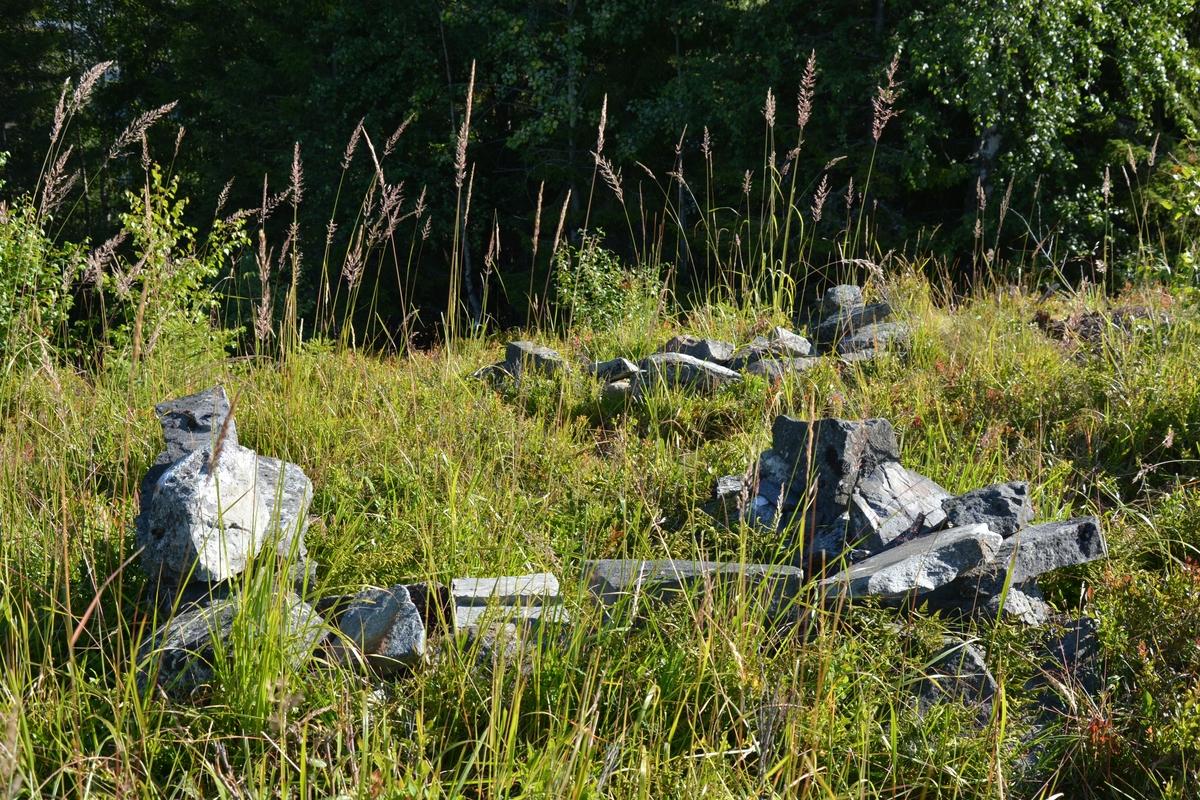 Seks bøgahi, rekonstuert fangstanlegg for villreinjakt