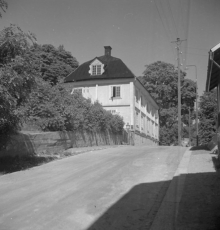 Tellandska gården, Lindesberg.juli - augusti 1955.