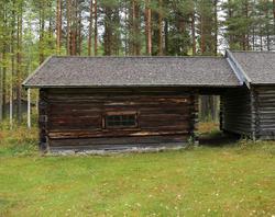 Fjøs fra Langnebba, Åsnes Finnskog