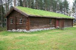 Seterstua på Melgårdssetra. (Foto/Photo)