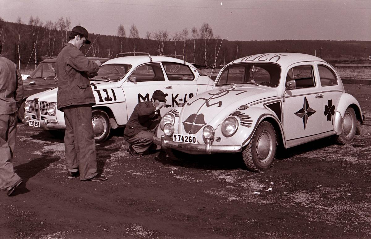Muckardag i Västernorrlands Regemente I21 i Sollefteå 1969.