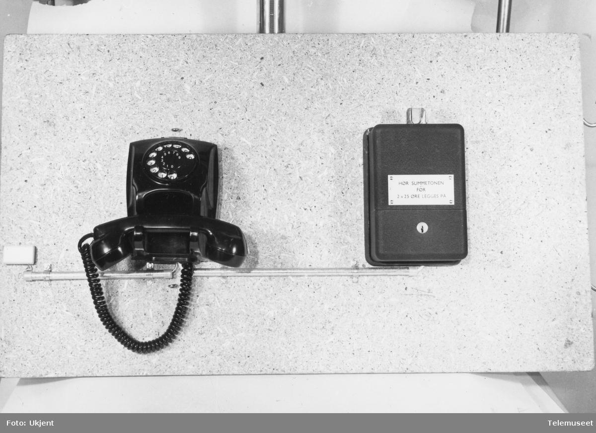 Ekstraklokke betalingstelefon i Stavanger