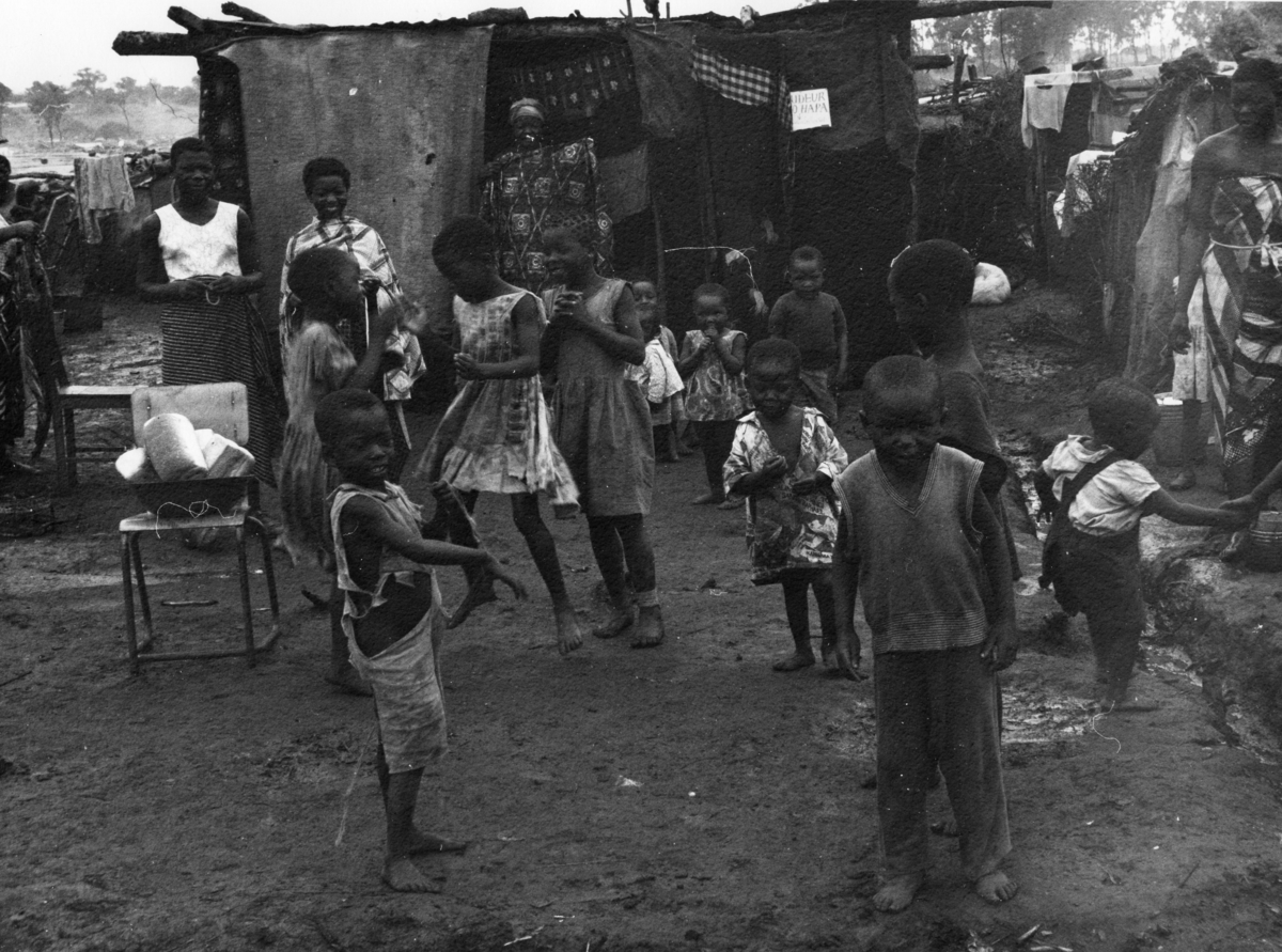Utrikestjänst, FN. Kongo, Baluba-läger.