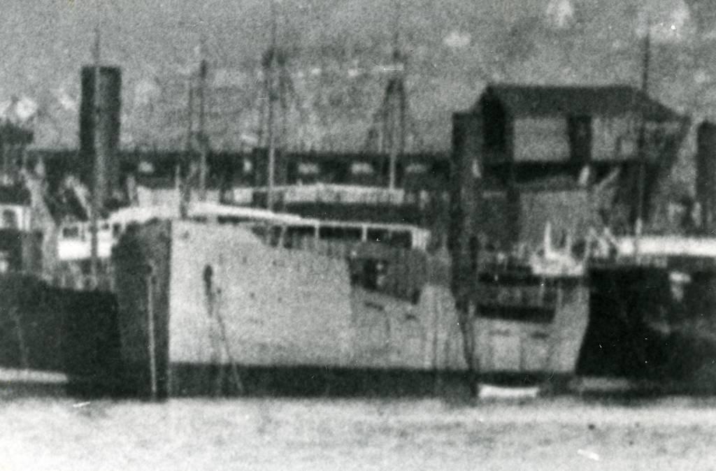 Abisko Upplagd i Narvik. Malmskip Rederi: Grängesberg