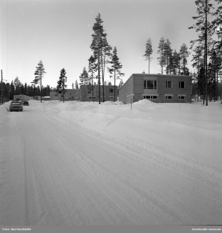 Bostadsområde med villor byggs på Neptunvägen i Bredsand.