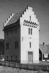 """Brumunddal transformatorstasjon, """"Sekundærstasjonen"""" 1919. H"""
