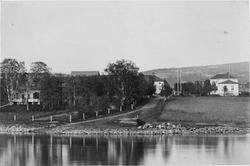 Konsul O Häggboms egendom i Skellefteå, 1880- tal.