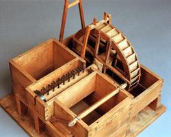 Tegelslagningsmaskin, modell