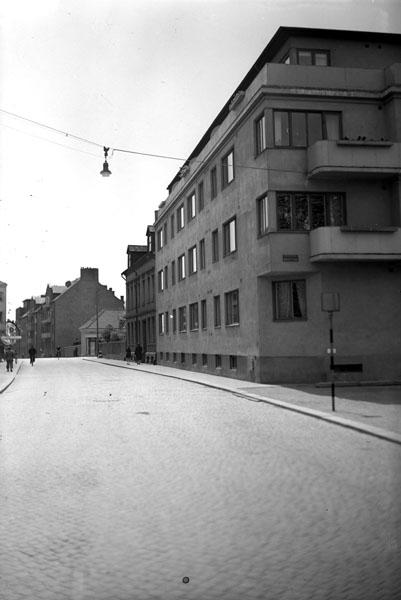 Valldammsgatan vid nuvarande kulturhuset.